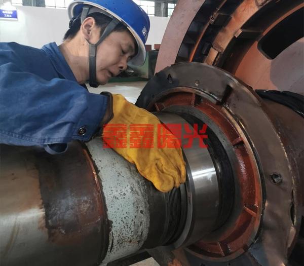 铜仁循环泵换轴承