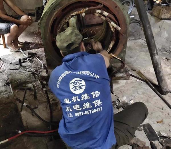 电机维修加工